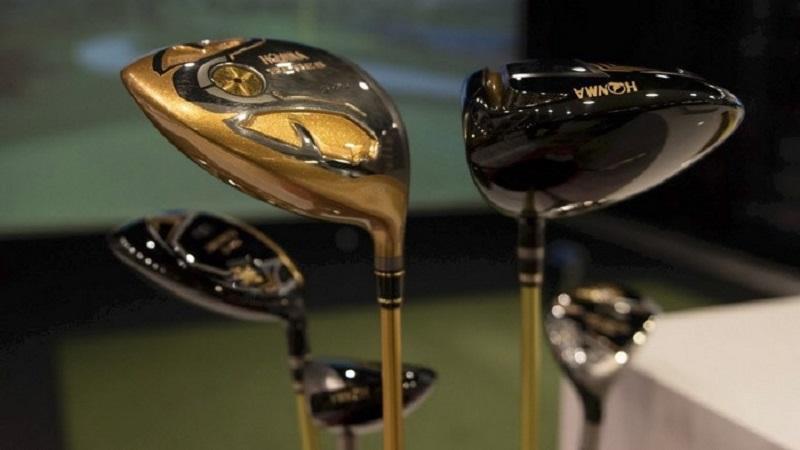 Gậy golf Honma nổi tiếng với sự cao cấp, sang trọng trong từng đường nét
