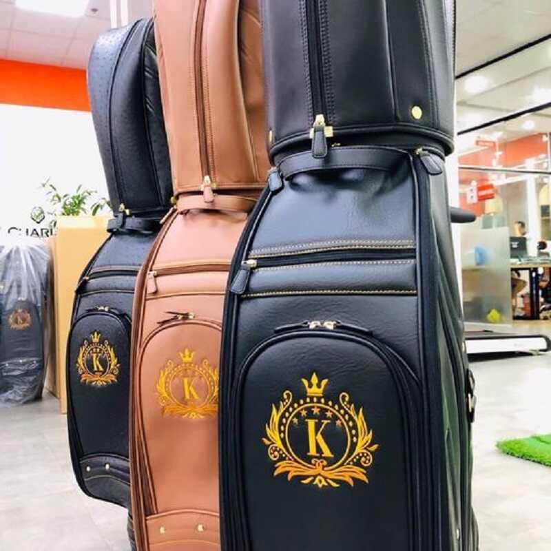 Túi gậy golf K giúp tạo cảm giác sang trọng, đẳng cấp cho các golfer