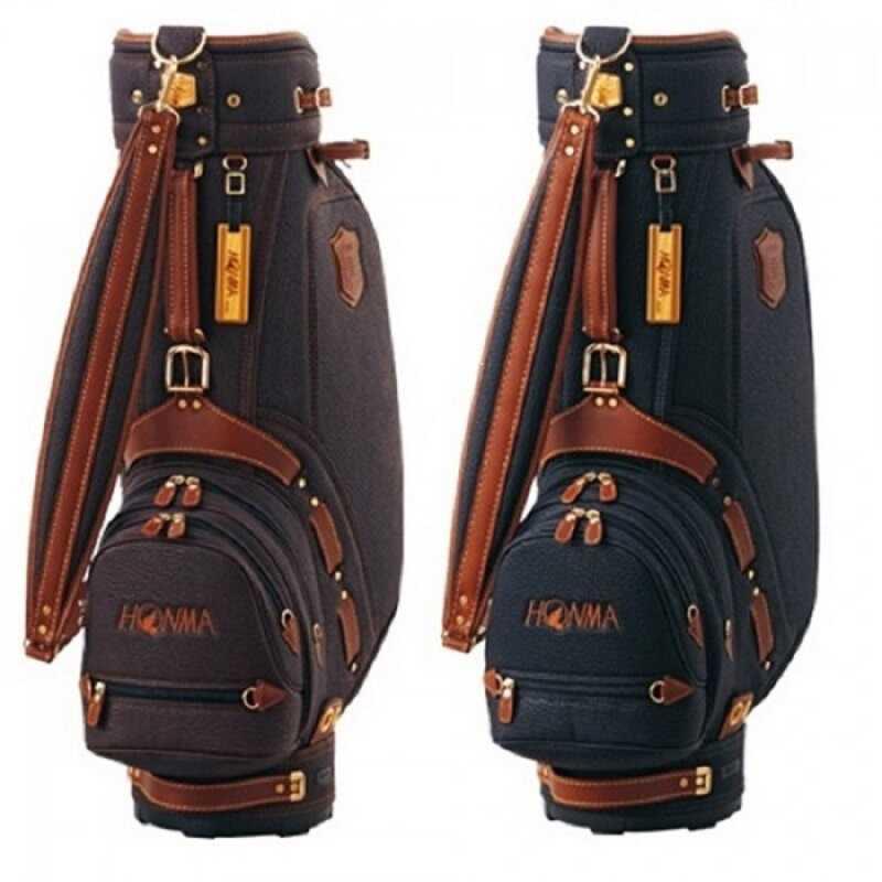 Hai loại túi gậy golf Honma CB–2817 và CB-12006 đều được làm từ chất liệu cao cấp, có độ bền tuyệt đối