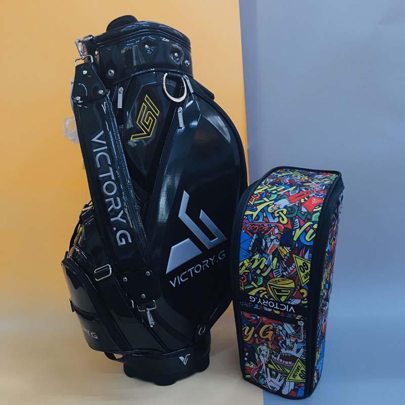 Bộ túi đựng gậy và túi xách có thiết kế năng động
