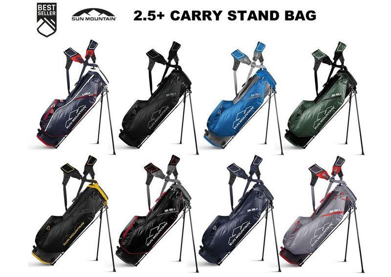 Mẫu túi golf siêu nhẹ của Sun moutain