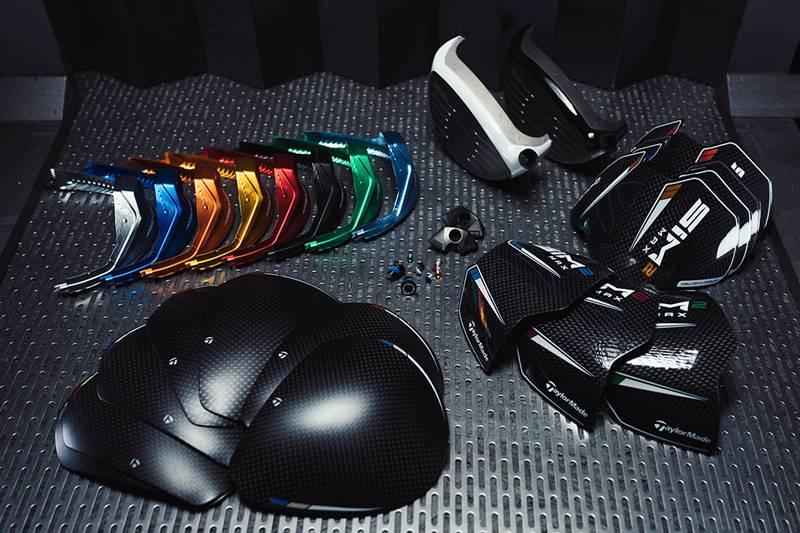 Màu sắc trên Taylormade SIM2 đa dạng và nổi bật hơn phiên bản cũ rất nhiều