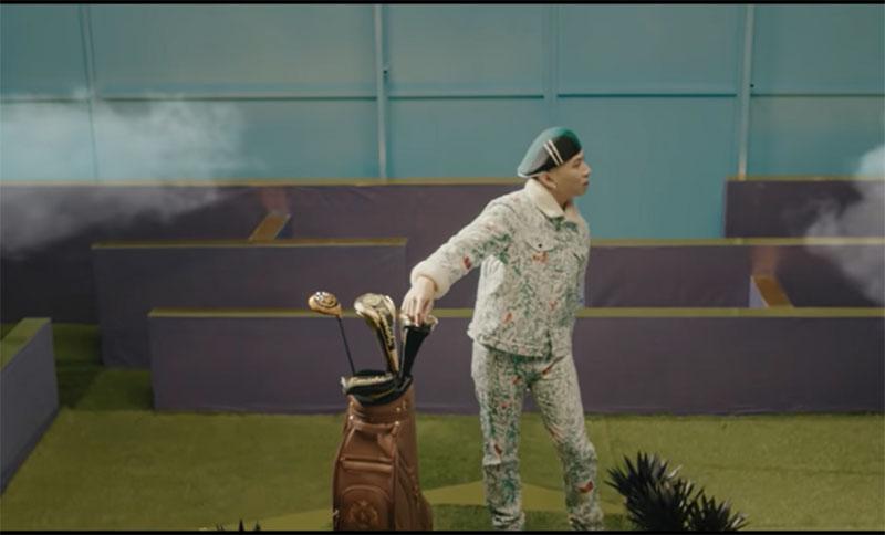 """Bộ gậy Kenichi Japan Golf sang trọng xuất hiện trong MV """"Đêm nay anh không ngủ"""" của Karik"""