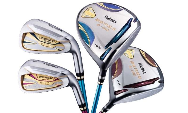 Honma Beres E có khả năng trợ lực tuyêt vời cho các tay chơi golf lớn tuổi