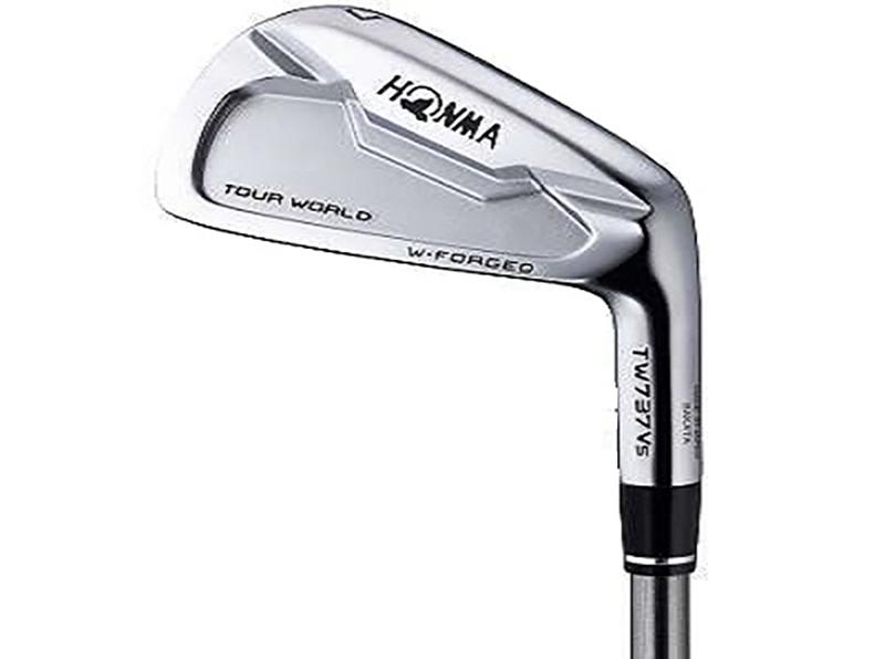 Một trong những sản phẩm ấn tượng là gậy golf Honma Tour World