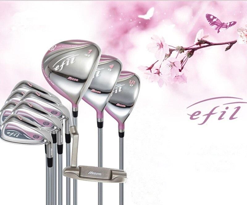 Mizuno Efil 7 Fullset có thiết kế tinh xảo, vô cùng thu hút với golfer phái nữ
