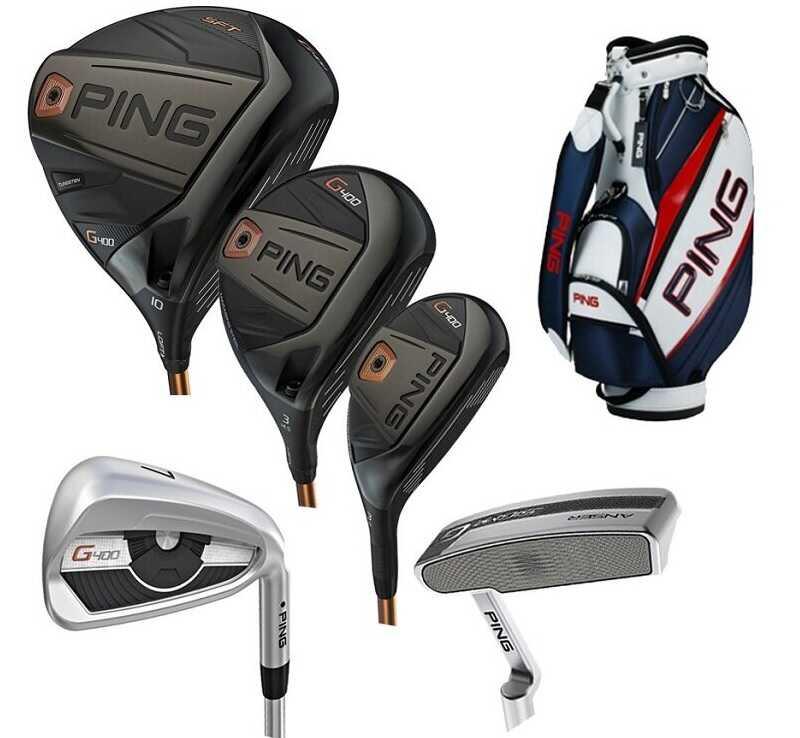 Gậy golf Ping được thiết kế tinh xảo và chắc chắn từ những nguyên liệu cao cấp