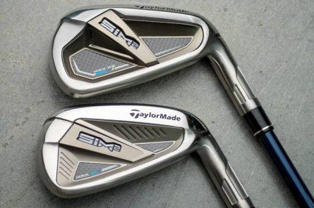 Iron Taylormade SIM2 áp dụng công nghệ mới Cap Back Technology giúp tăng độ linh hoạt