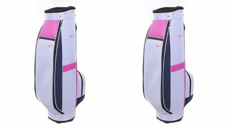 Mẫu túi golf Mizuno WMN Caddie Bag màu hồng