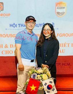 """CEO 9X Linh Golfgroup và tham vọng trở thành """"ngọn cờ đầu"""" của phong trào golf các tỉnh miền Nam!"""