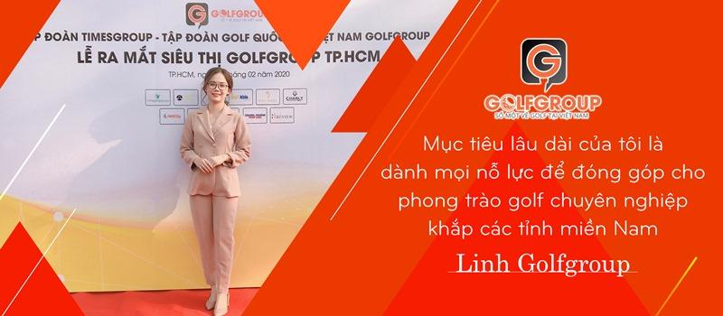 Chân dung xinh đẹp của nữ CEO Golfgroup chi nhánh miền Nam
