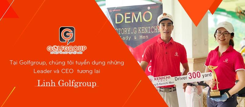 Chị Linh luôn dành nhiều tâm huyết cho việc tuyển chọn nhân sự tại Golfgroup