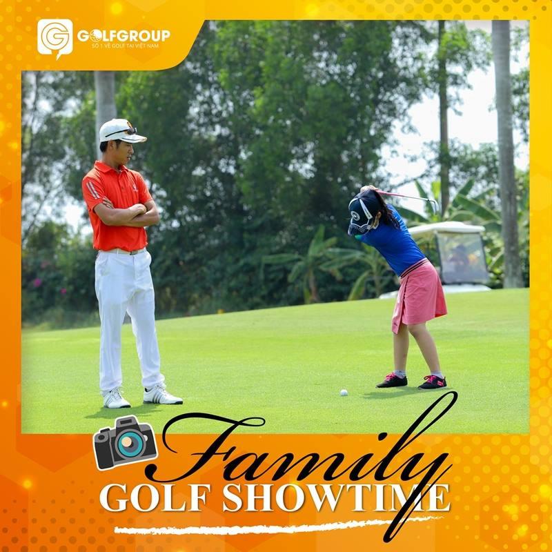 Family Golf Showtime chắc chắn sẽ tạo ra nhiều khoảnh khắc ý nghĩa, thú vị