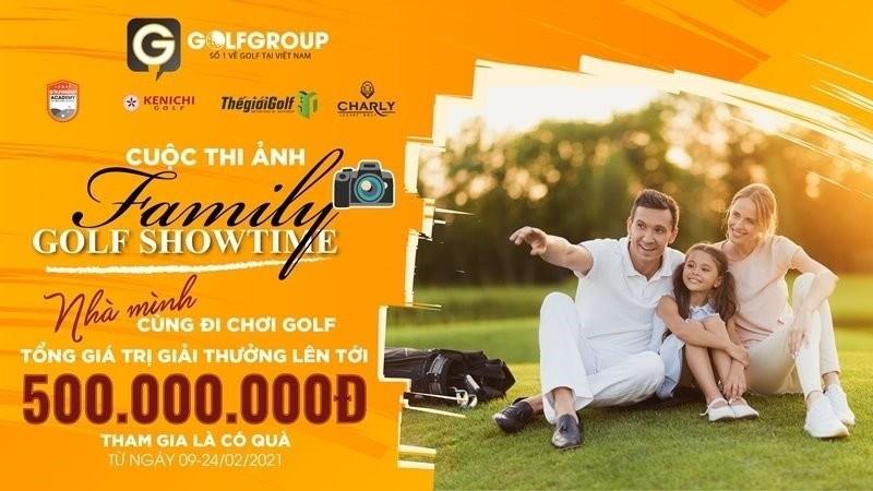 Cuộc thi ảnh Family Golf Showtime mang nhiều ý nghĩa và mục đích tốt đẹp