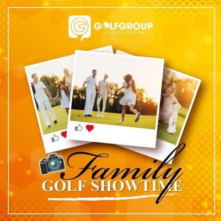 """""""Family Golf Showtime"""" 2021 có tổng giải thưởng lên đến 500 triệu đồng với hơn 10 giải cực kỳ hấp dẫn"""