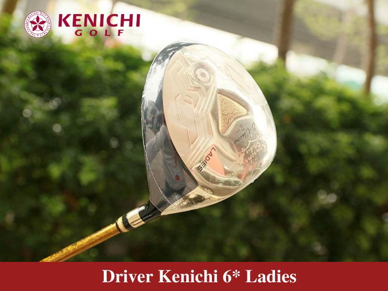 Kenichi Ladies 6 sao được thiết kế với độ bền và độ trợ lực cực kỳ tốt