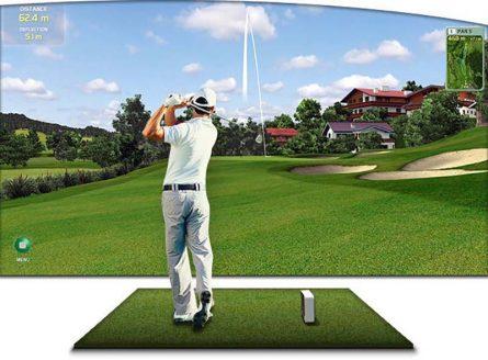 Golf3D HN cũng là thương hiệu chuyên thiết kế thi công phòng golf 3D uy tín