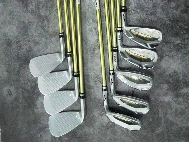 Bộ gậy golf Honma Beres B07 3 sao 2020 có chất liệu cán làm bằng graphite