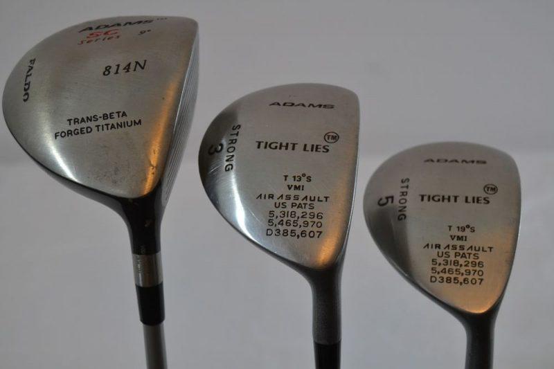Các bộ gậy của Adams Golf ngày nay nổi danh với mức giá cực kỳ đắt đỏ