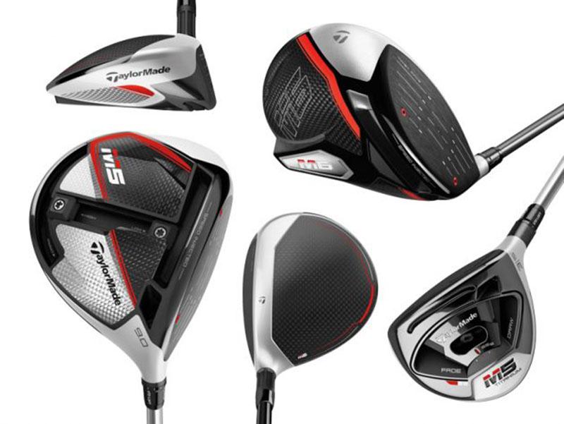 Các sản phẩm trong bộ gậy golf TaylorMade M5 ra mắt năm 2019