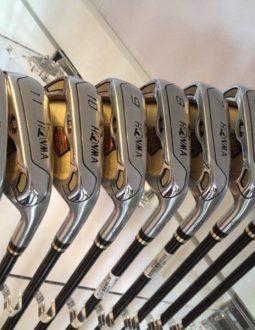 Dòng gậy golf Honma 3 sao có thiết kế sang trọng - đẳng cấp
