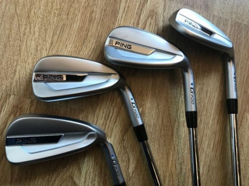 Một số sản phẩm trong bộ gậy golf Ping G700