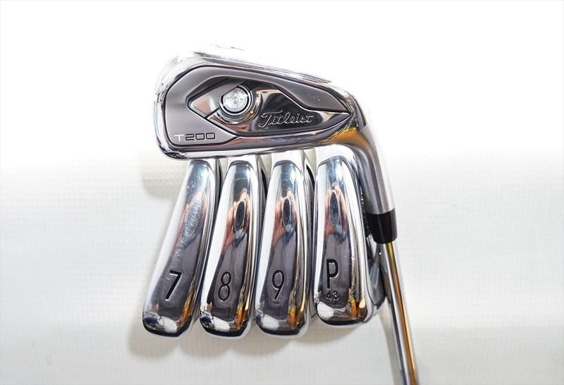 5 trong số 8 cây trong bộ gậy golf Titleist T200