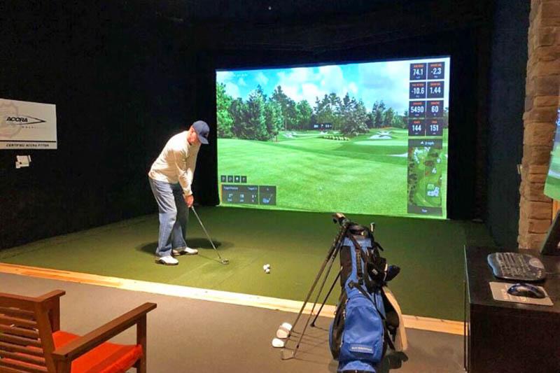 Phòng golf 3D tại hệ thống Golfgroup