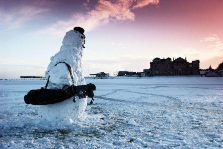 """Thuật ngữ snowman trong thi đấu golf liệu có phải là """"người tuyết""""?"""