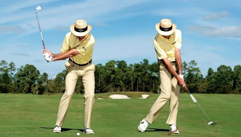 Để có cách đánh bóng golf thẳng chuẩn nhất, bạn cần thực hiện đúng tư thế