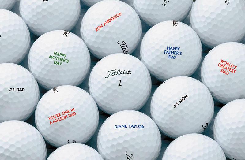 In bóng golf giúp cho những quả bóng thêm sinh động