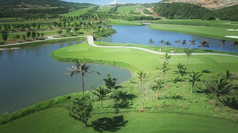 Sân golf mang lại cảm giác êm đềm, thoải mái cho golfer