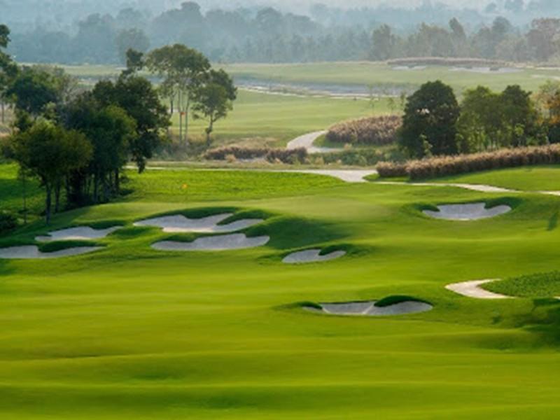Một trong những đặc điểm nổi bật của sân golf BRG Hải Phòng là hệ thống phát bóng tại cả 4 tee