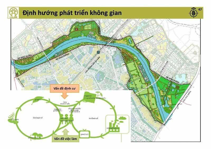 Vị trí sân golf Vinpearl Gia Lâm Hà Nội