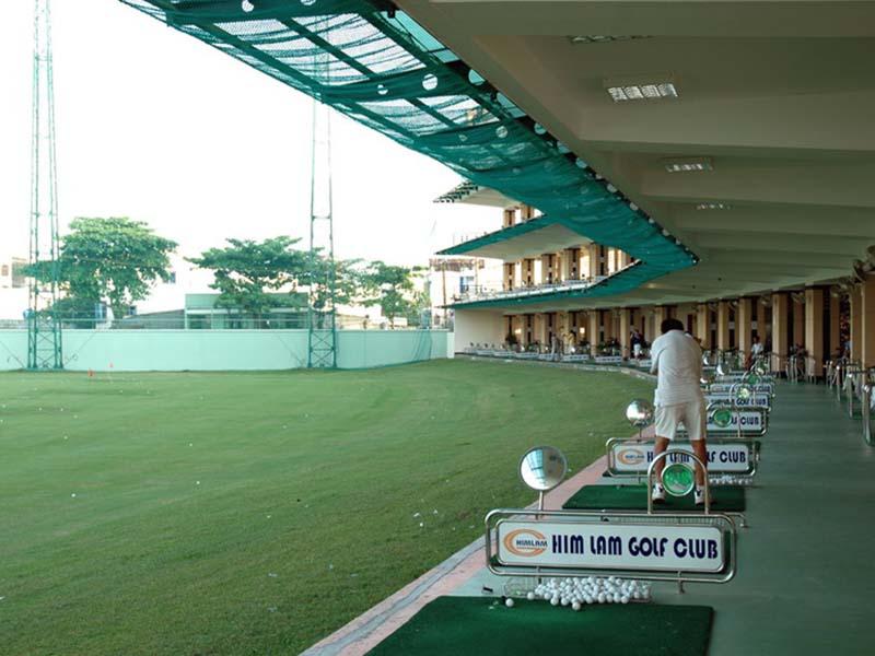 Sân golf Him Lam là nơi tập luyện lý tưởng của golfer