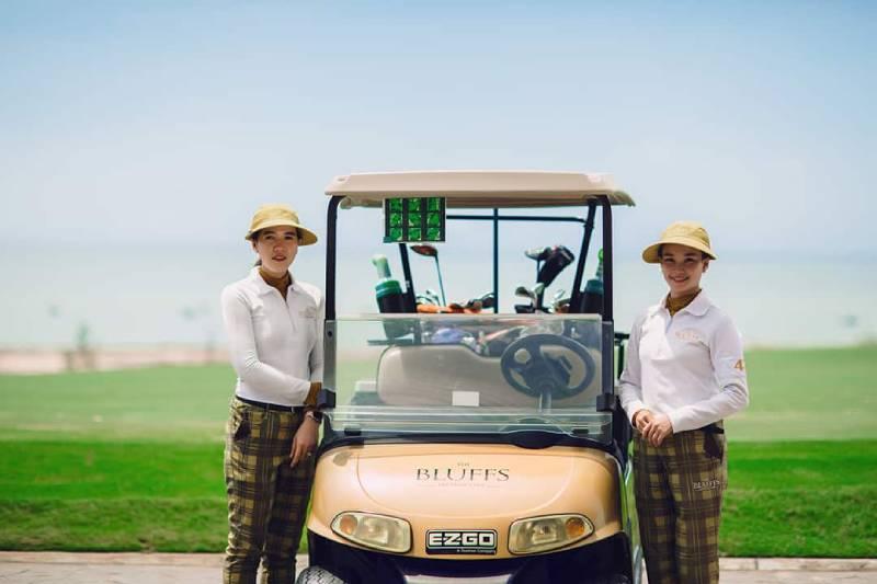 Các dịch vụ tại sân golf Hồ Tràm đều đạt tiêu chuẩn quốc tế