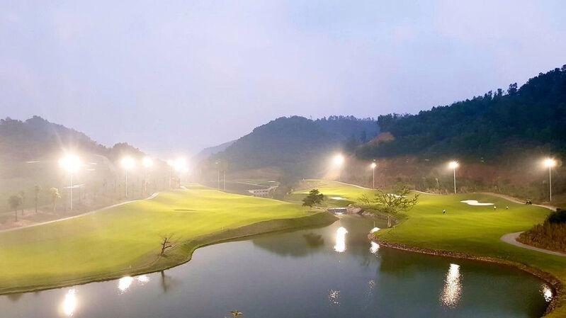 Những người chơi đến từ Hàn Quốc phần lớn đều đánh giá đây là một sân golf khó
