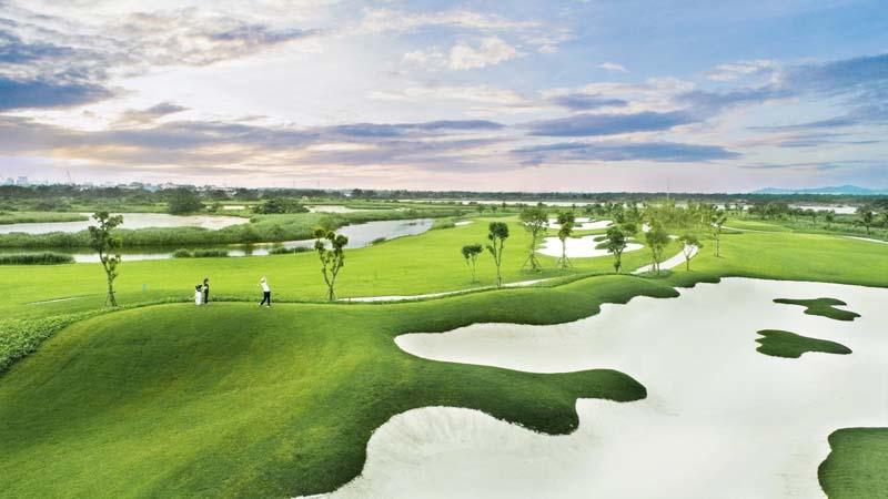Sân golf ở Hải Phòng Vinpearl