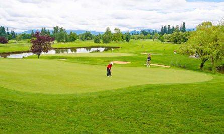 Không gian chơi golf sang trọng và đẳng cấp