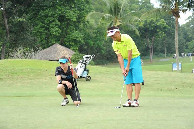 Sân golf được nhiều golfer lựa chọn vui chơi