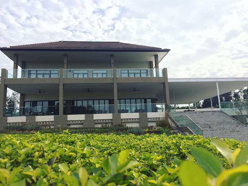 Club houses ở sân golf Vân Trì