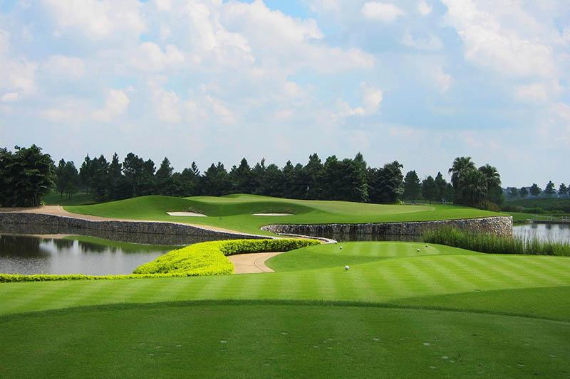 Sân golf Vân Trì ở Đông Anh, thủ đô Hà Nội