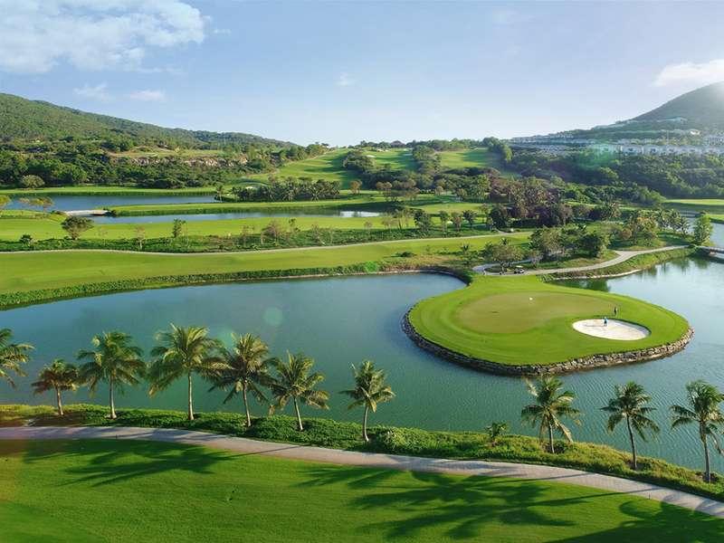 Vinpearl golf Vũ Yên nằm ngay cạnh sân bay quốc tế Cát Bi