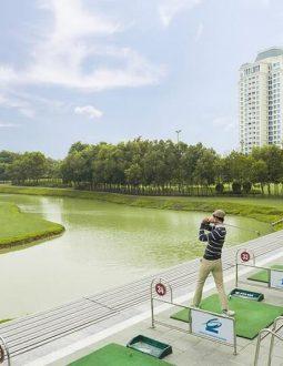 Địa chỉ, bảng giá sân tập golf Ciputra phía Tây Bắc Hà Nội