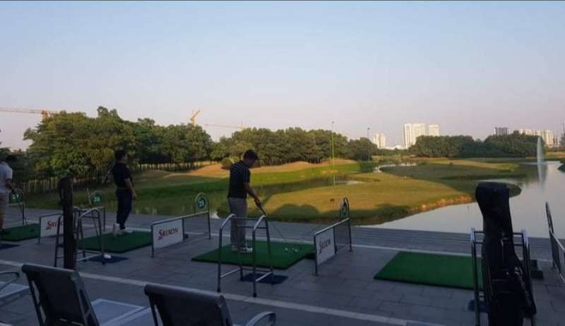 Sân tập golf Ciputra hiện nay là một trong những sân tập bóng được ưa chuộng nhất trong nội thành Hà Nội