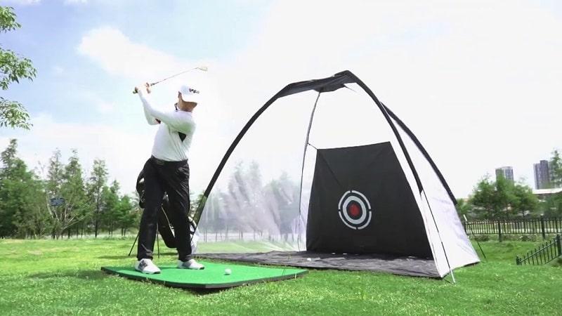khung tập chơi golf