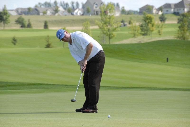 tập golf cho người mới bắt đầu kỹ thuật putting