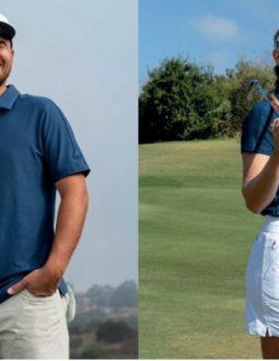 Áo polo golf được làm từ nhiều chất liệu vải khác nhau