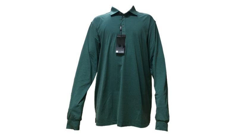 Mẫu áo golf tới từ thương hiệu Handee được làm từ chất liệu vải thun cao cấp