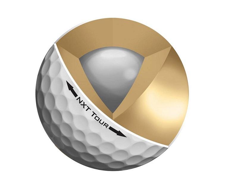 Lõi bóng golf thường được làm từ bằng chất liệu cao su nén